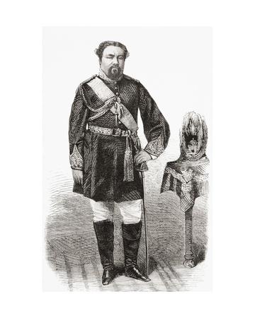 King Kamehameha.