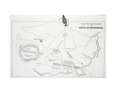 Plan to Illustrate the Battle of Bannockburn