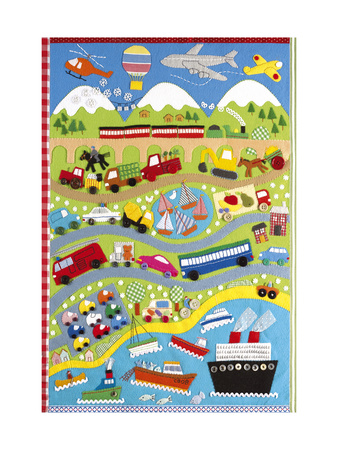 Going Places - Premium Giclee Print
