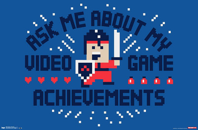 Ask Me About My Video Game Achievements Snorg Tees