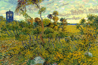 Vincent Van Gogh Tardis Montmajour Poster