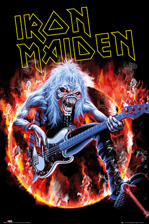 Poster Iron Maiden - Fear Live..
