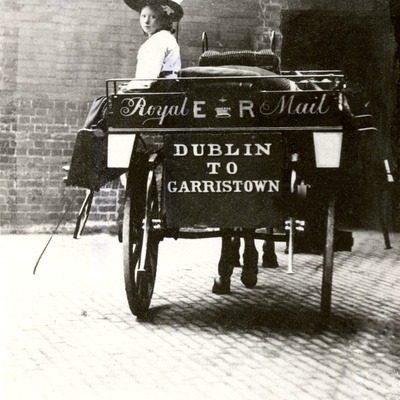 Dublin to Garristown Mail Cart, 1901-10
