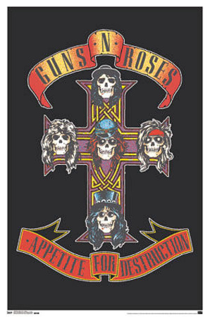 Buy Guns n' Roses Appetite For Destruction at AllPosters.com