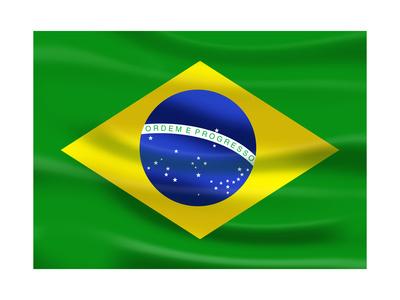 Buy Flag Of Brazil at AllPosters.com