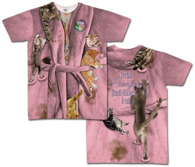 Cat Lady Nightshirt Costume Tee