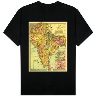 India - Panoramic Map