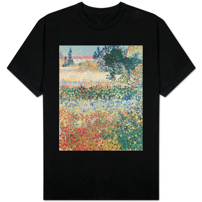 Garden in Bloom, Arles, c.1888