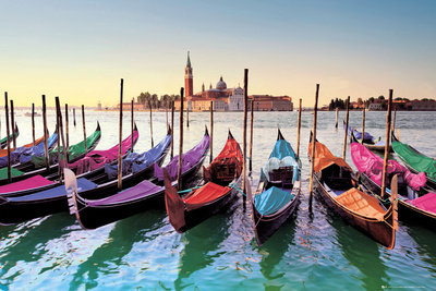 Buy Venice - Gondolas at AllPosters.com
