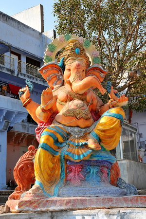 Hindu God Ganesh, India, Asia