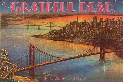 Grateful Dead - Dead Set College Music Poster