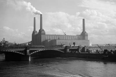 Battersea Power Station by S.W. Rawlings