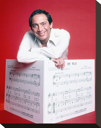 Paul Anka - Buy this stretched canvas print at AllPosters.com