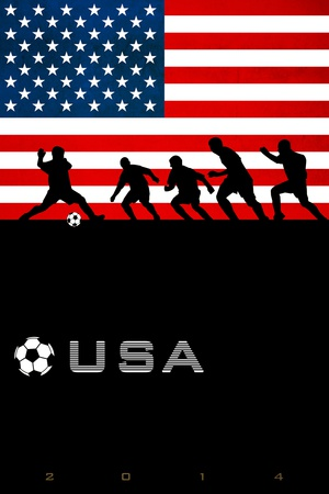 Buy Brazil 2014 - USA at AllPosters.com