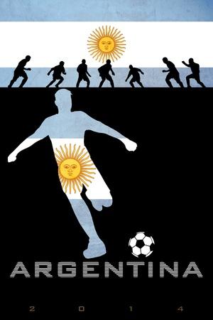 Buy Brazil 2014 - Argentina at AllPosters.com