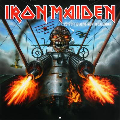 Iron Maiden - 2015 Calendar..