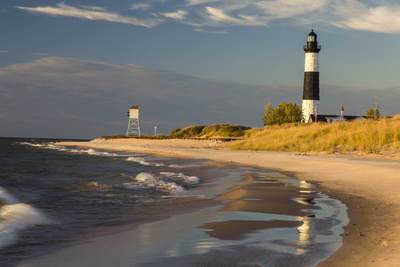 Big Sable Point Lighthouse on Lake ...