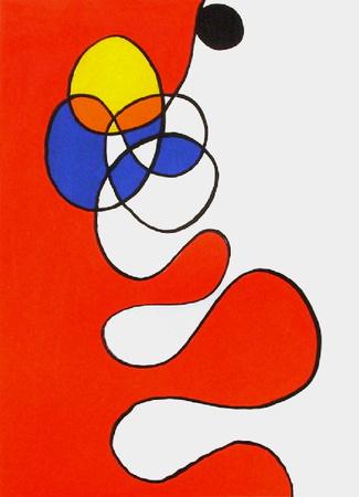 Derrier le Mirroir, no. 173: Composition V - Collectable Print