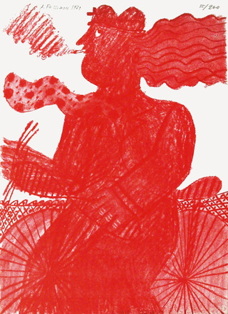 Le CycIIste Rouge - Limited Edition