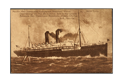 Reprints of the SS Korea are available by clicking on the image.