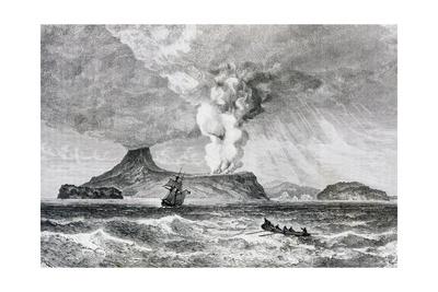 Krakatoa. 1883.