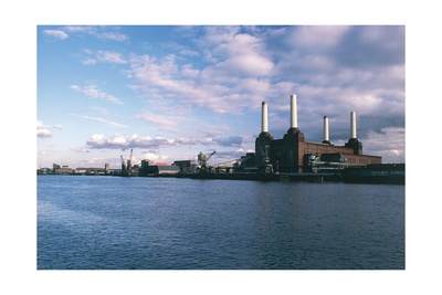 Battersea Power Station and Thames