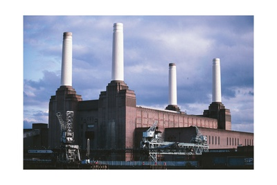 Battersea Power Station in colour