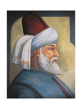 Portrait of Gialal Al-Din Rumi