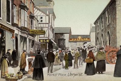 Market Place, Llanwrst