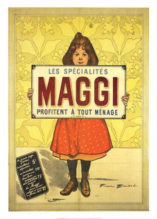 Spezialitäten von Maggi