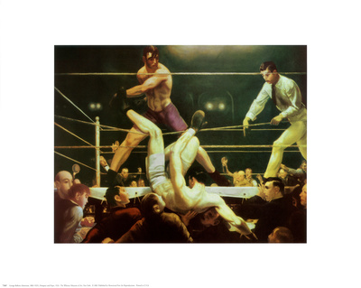 Dempsey and Firpo, 1924 - Art Print