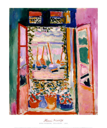 Open Window, Collioure, 1905 - Art Print