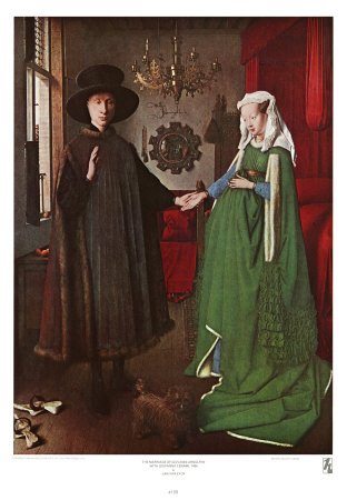Portrait of Giovanni Arnolfini and his Wife, c.1434