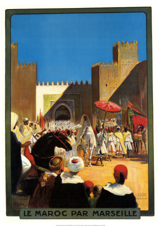 Buy La Maroc Par Marseille at AllPosters.com