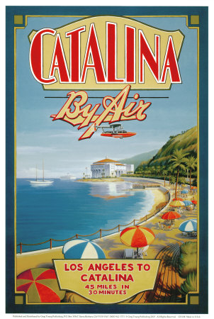 Catalina by Air Posters