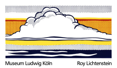 Cloud and Sea, 1964 - Serigraph
