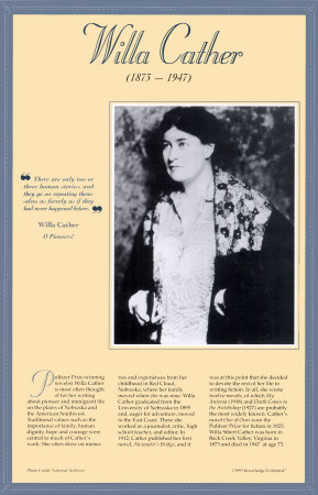 American Authors of the 20th Century - Willa Cather