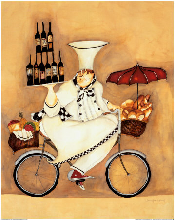 Wine Peddler Art Print