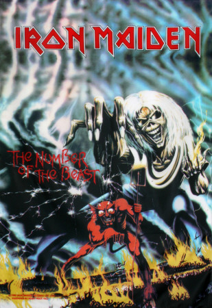 Poster Iron Maiden?- The Number Of The Beast..
