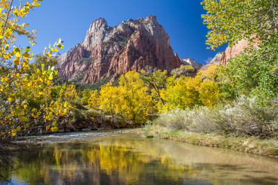 Zion National Park in Autumn