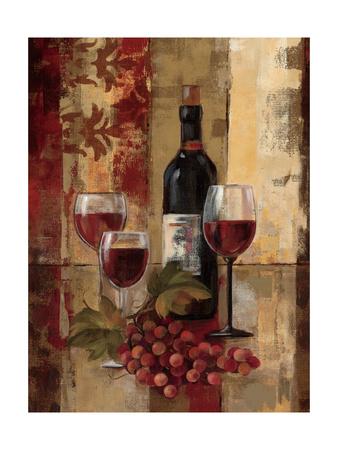 Graffiti and Wine II Art Print
