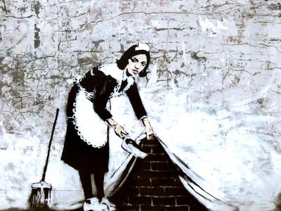 Town Maid Sweep at Hoxton Poster