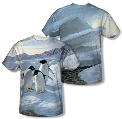 Wild Wings - Penguins (Front/Back Print)