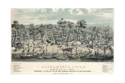 Sacramento, 1800s.