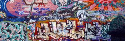 Graffiti on City Wall Photographic Print
