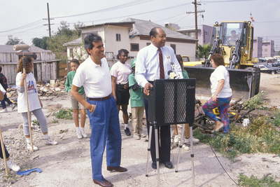Mayor Tom Bradley Overseeing Urban ...