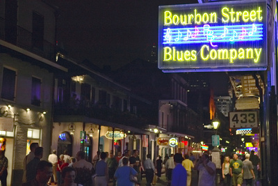 Blues Club and Neon Lights on ...