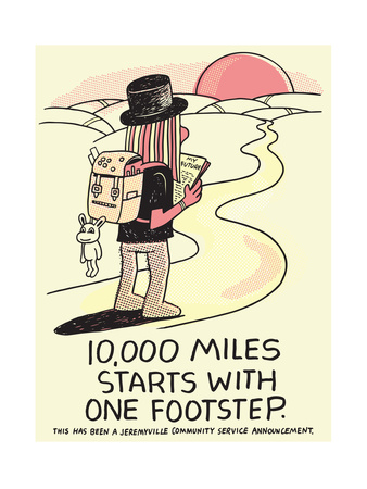 Jeremyville: 10000 Miles Starts With One Footstep