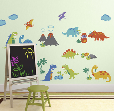 Dino Friends Wall Decal