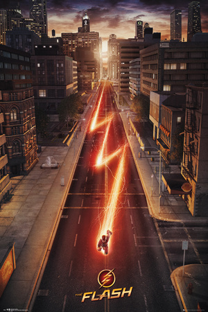 The Flash Television Poster